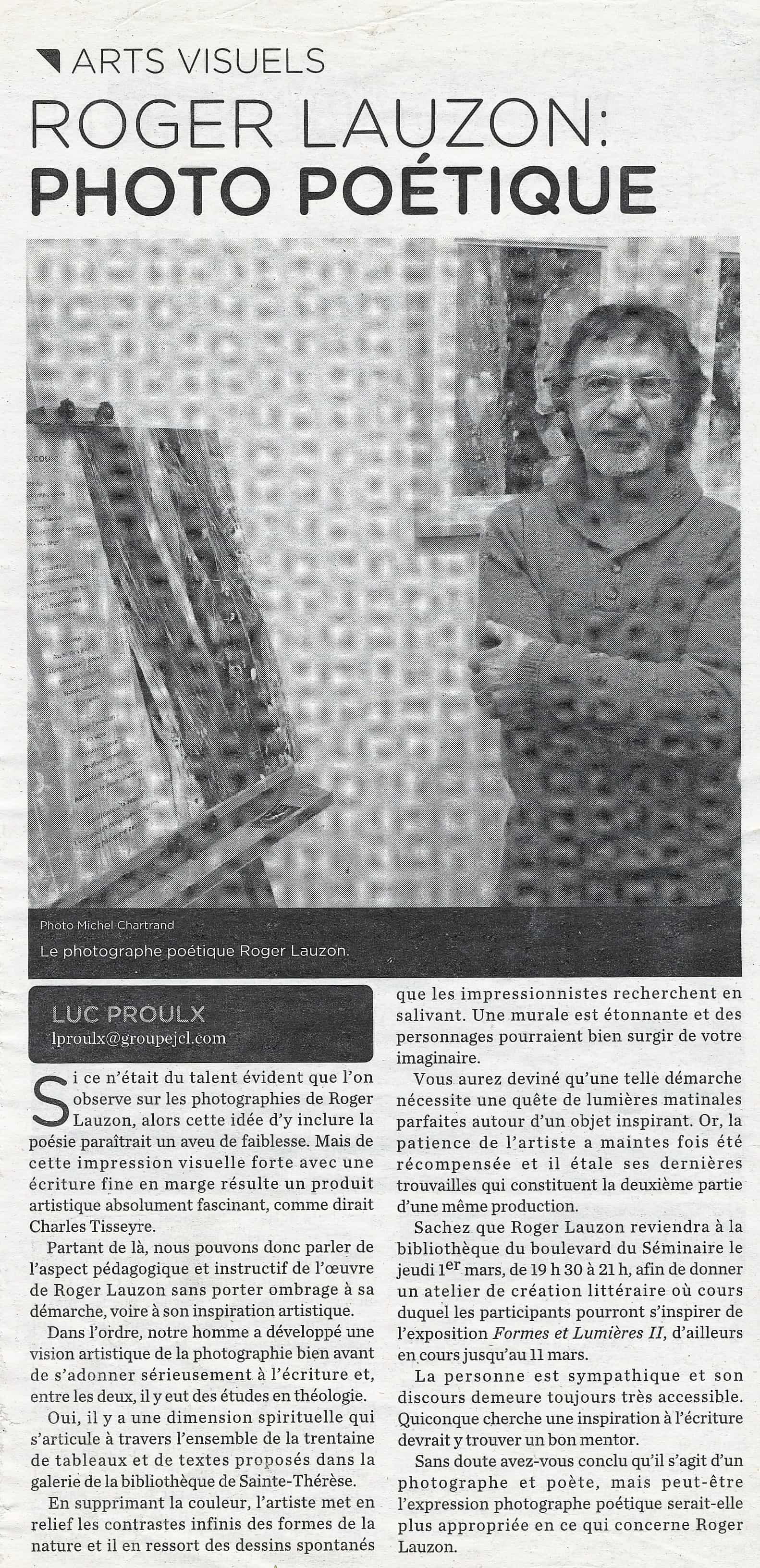 JOURNAL LE NORD INFO