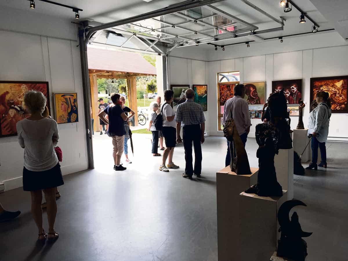 « Les Rendez-vous Art-Thé » sont de retour- Roger Lauzon expose...Par Journal Accès