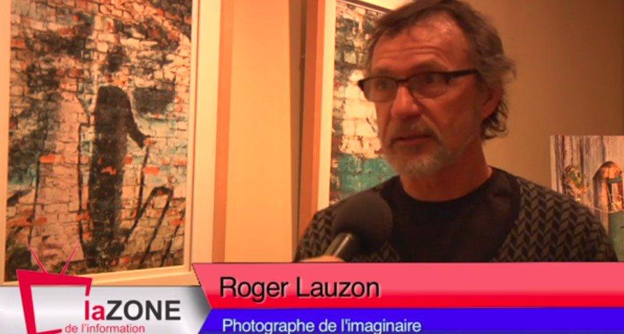 ROGER LAUZON EXPOSE SES OEUVRES À LACHUTE